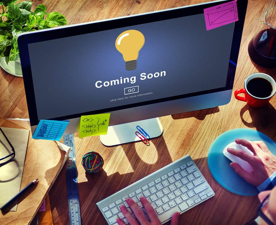 Coming Soon – Webseite in Bearbeitung